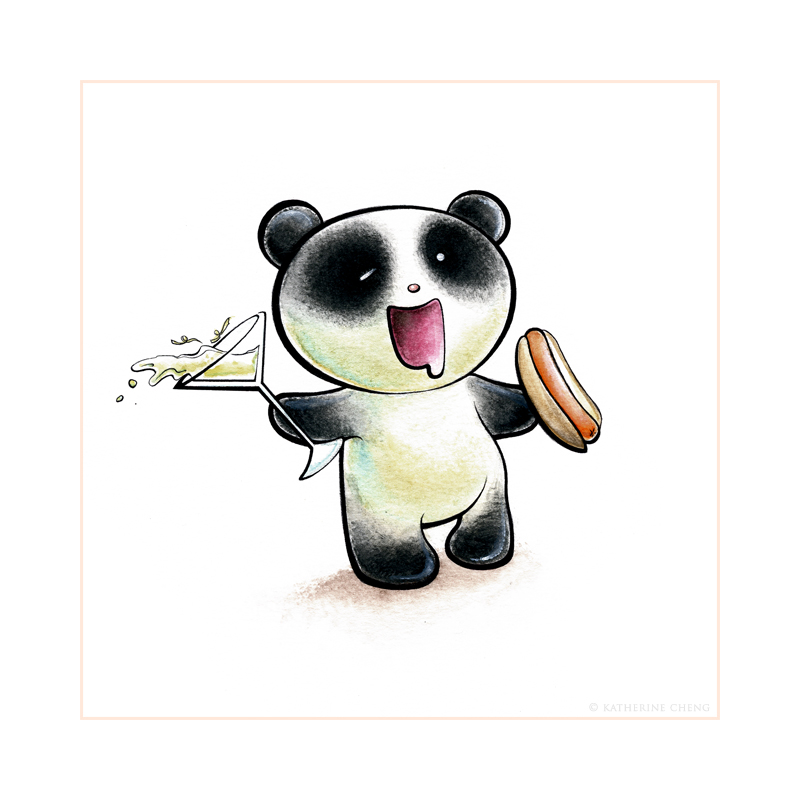 Panda Buzz Tiem by snowmask