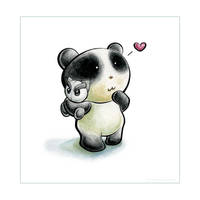 Panda Plush Tiem