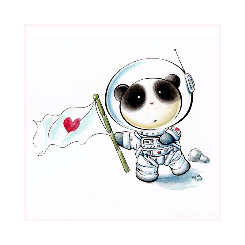 Panda Space Tiem By Snowmask On Deviantart