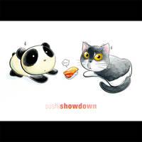 Panda Showdown Tiem
