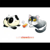 Panda Showdown Tiem