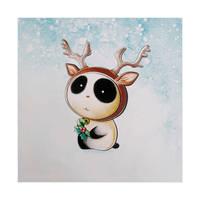 Panda Reindeer Tiem