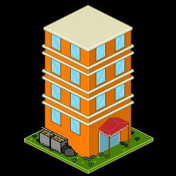 Hotel Pixel Art