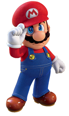 Mario odyssey angry render png