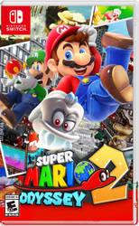 Super Mario Odyssey 2 Box Art!