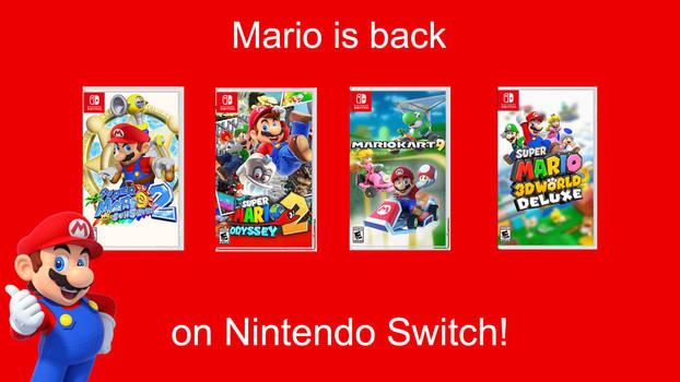 Mario is Back! Concept.