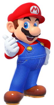 Mario Odyssey Thumbs Up Render!