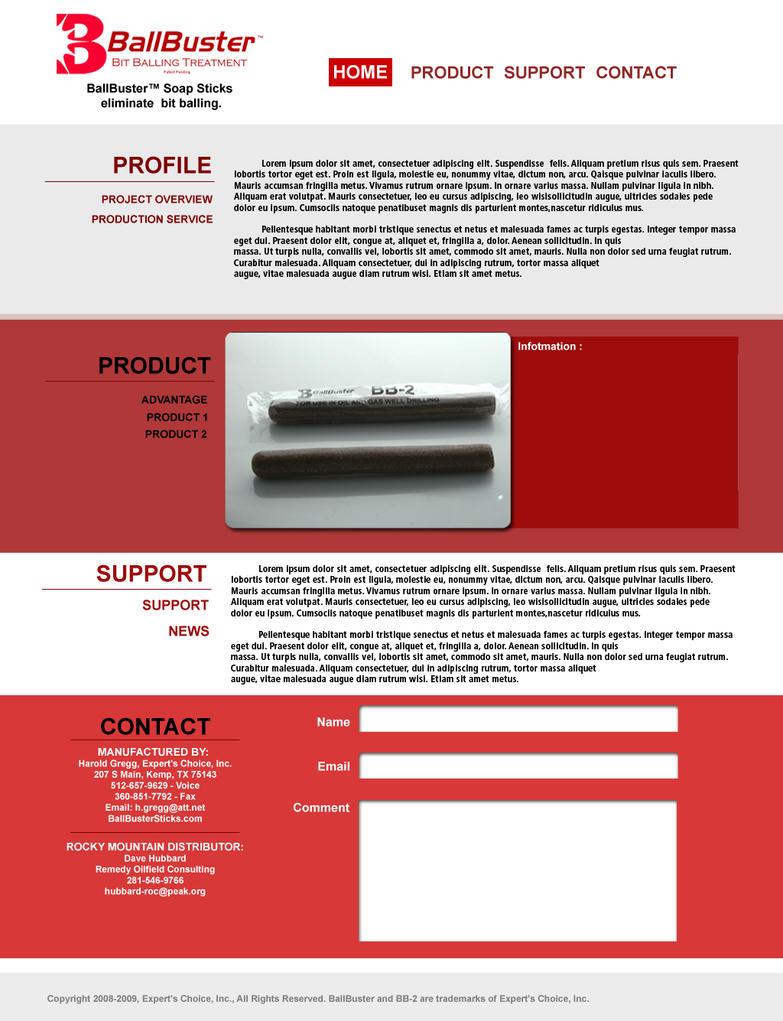 sampel web tamplet by ditoredaz on deviantart