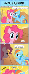 Over a Rainbow (My Version) by Yin-YarnTheMaster