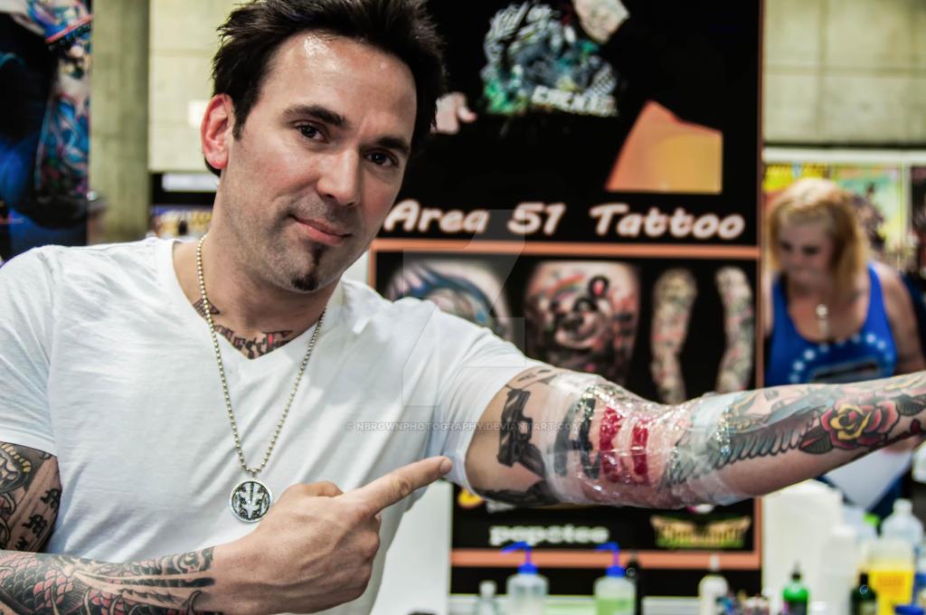 Jason David Franks TUNNEL RATS Tatoo By NBrownPhotography