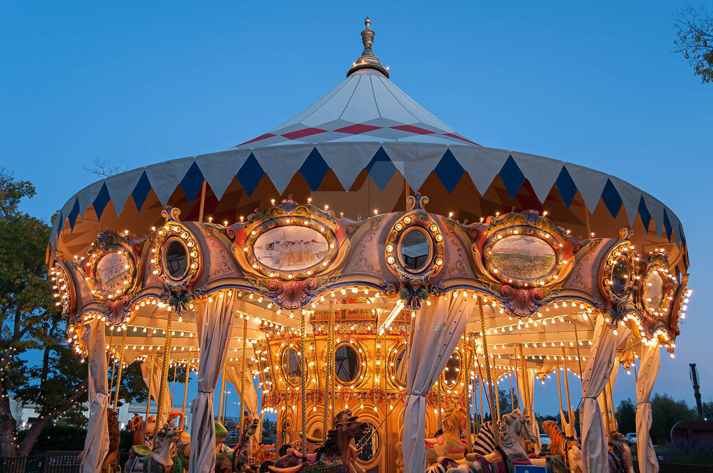 Nut Tree Carosel by NBrownPhotography