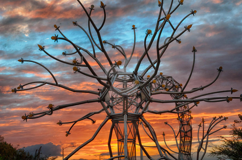 metal sculture by NBrownPhotography