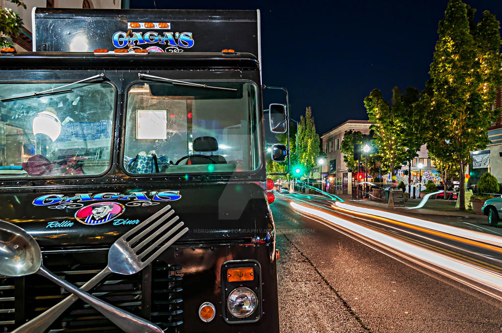 Gaga's food truck by NBrownPhotography