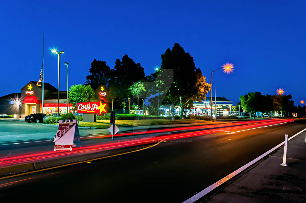 The Carl's Jr. run by NBrownPhotography