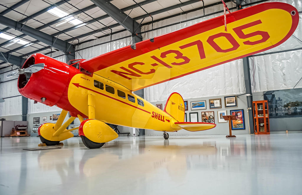 Lockheed Vega 5B by NBrownPhotography