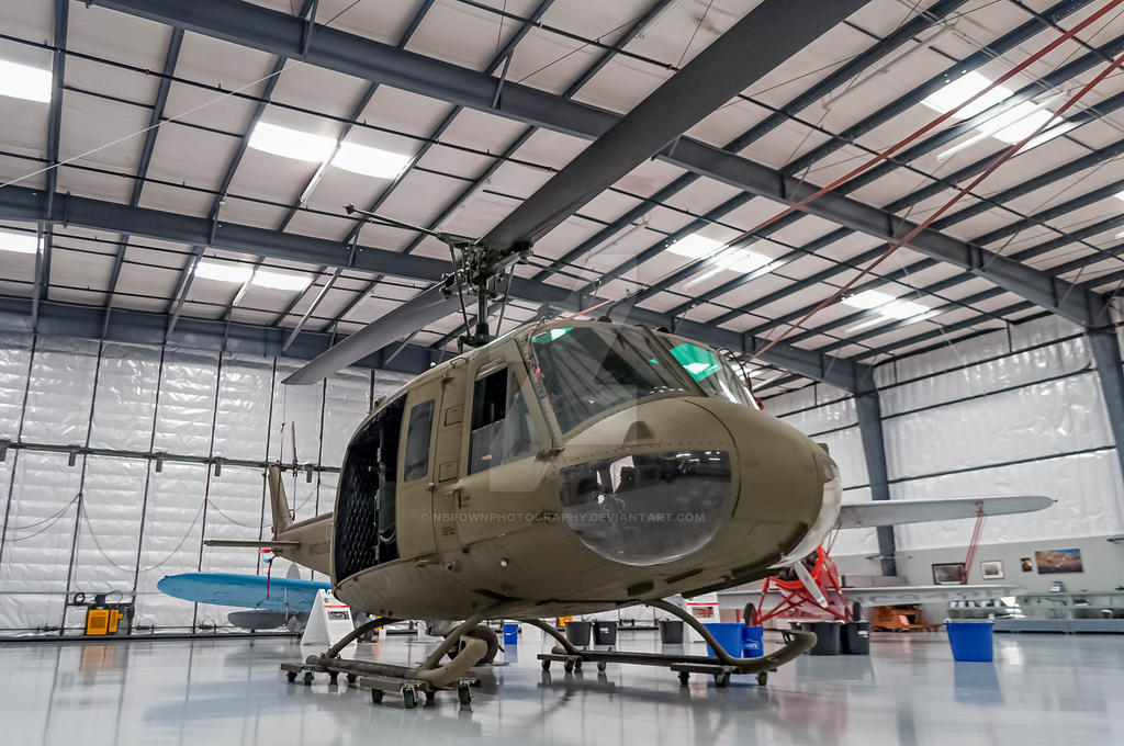 UH-1 Helicopter by NBrownPhotography