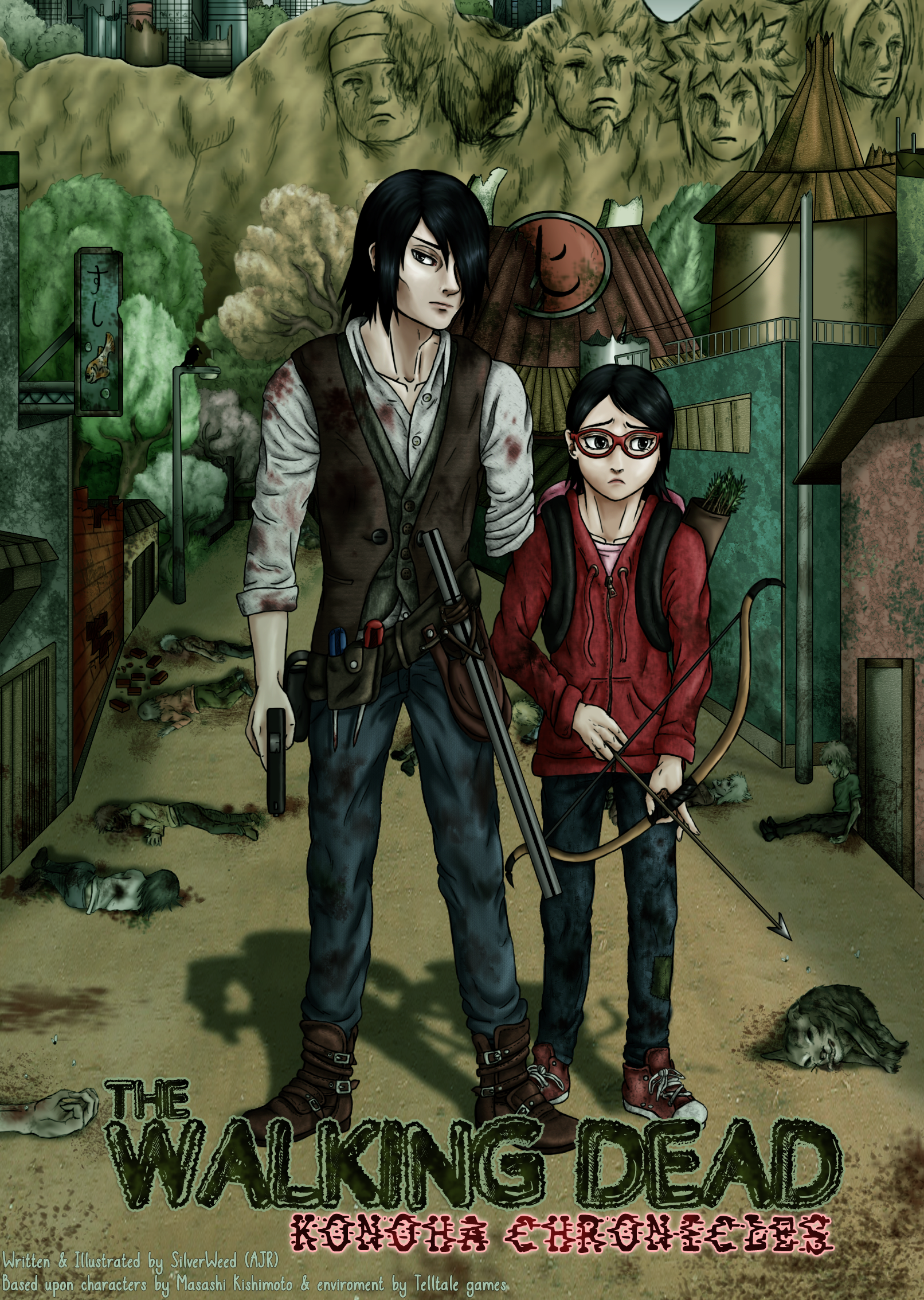 TWD: Konoha Chronicles Concept by Silver-WillowWing on ...