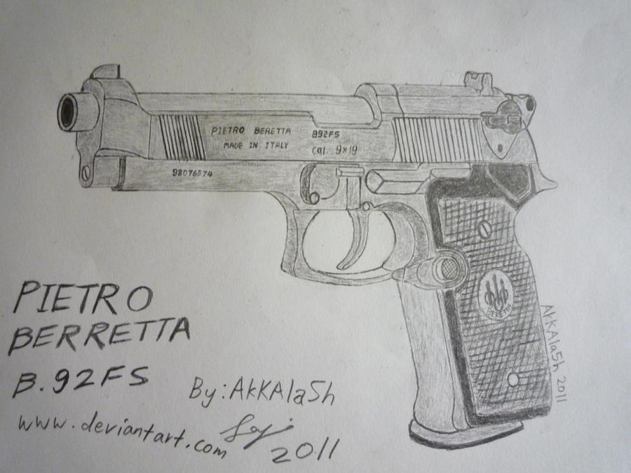 Beretta B92FS by AkKAla5H