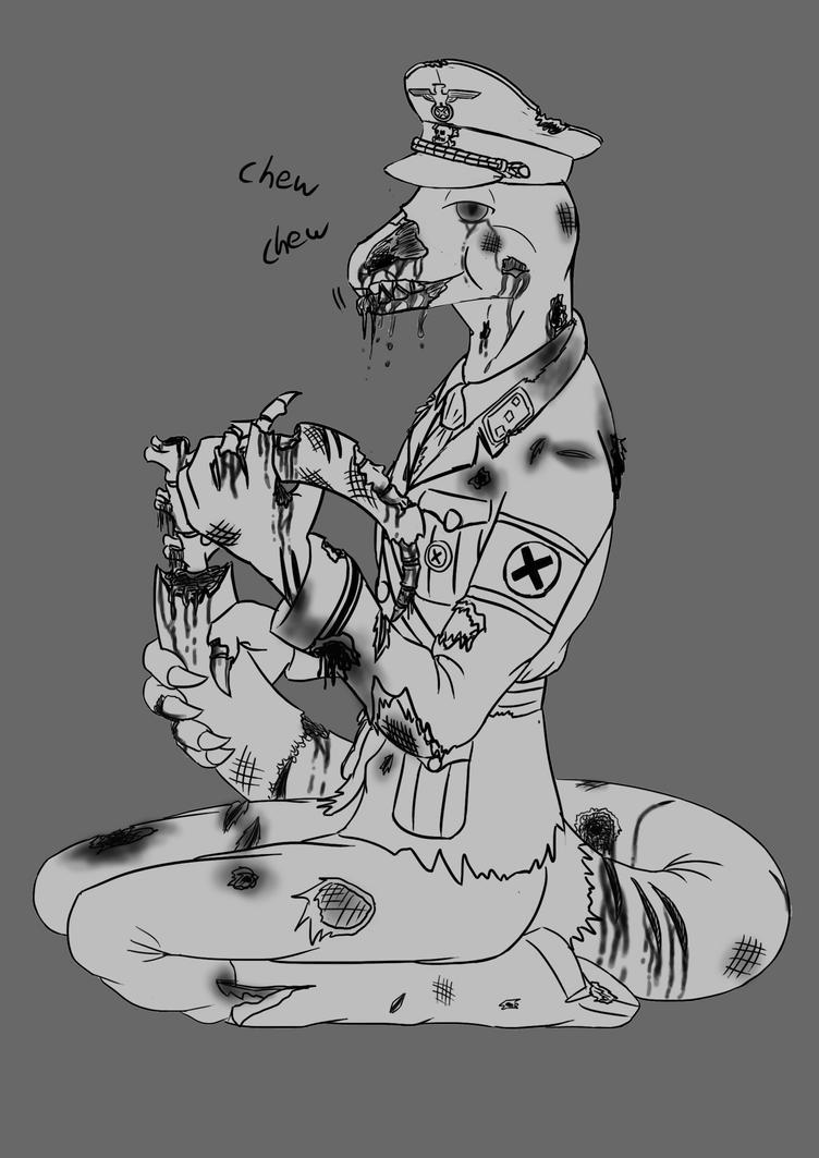 Nutzee Zombie by AkKAla5H
