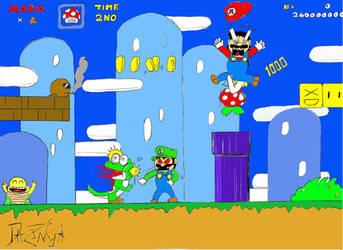 Mario. When you're not playing by DaZinga