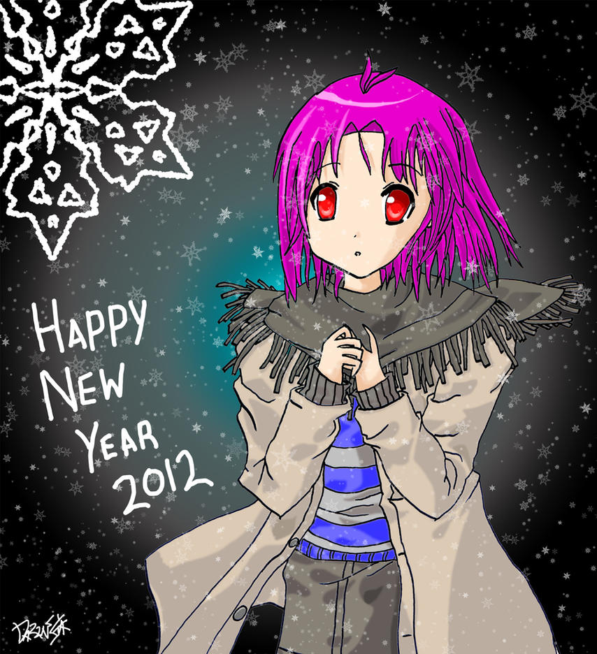 Happy New Year 2012 by DaZinga