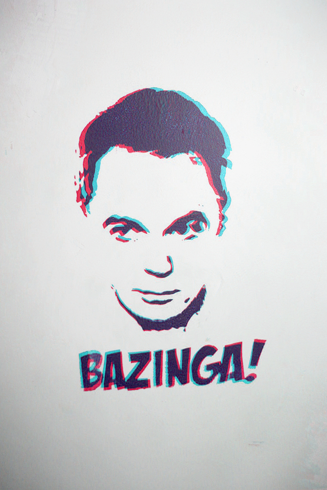 iPhone WP - Sheldon Cooper by Ythor