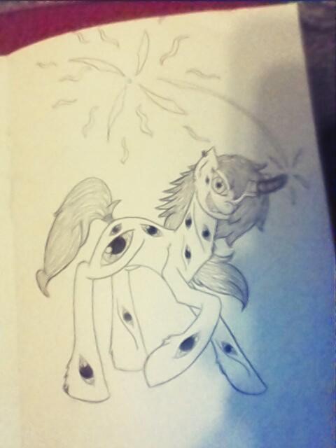 monster pony (seeing eye) by ashleymcm