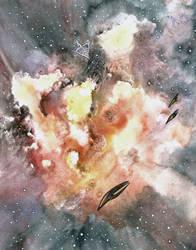 Deep space by fulmenoid
