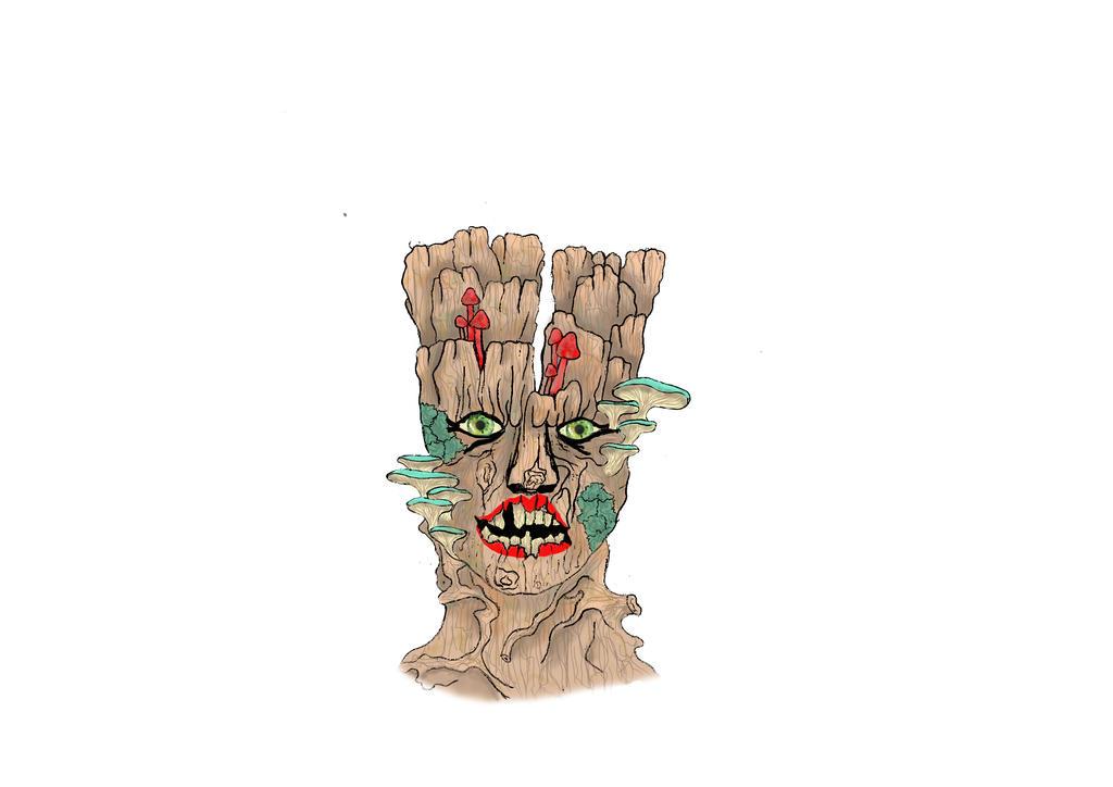 Mask Colour Design - Stripper Tree by Tempest-Art