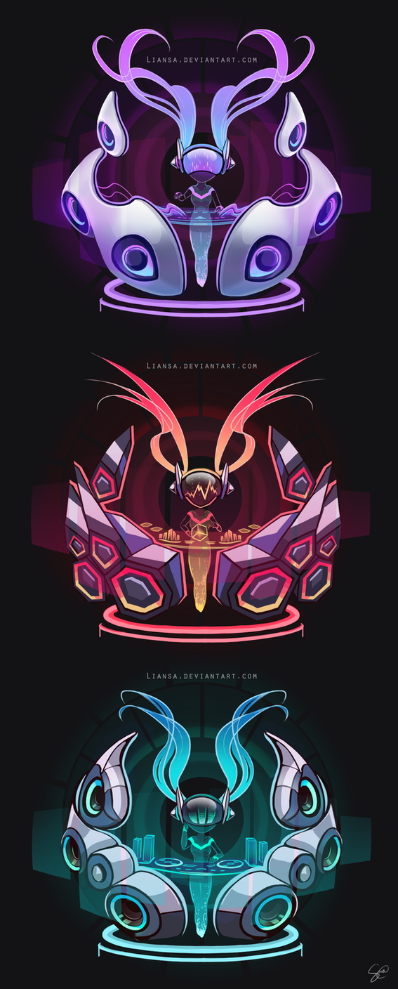 DJ Sona Sticker Designs by Liansa