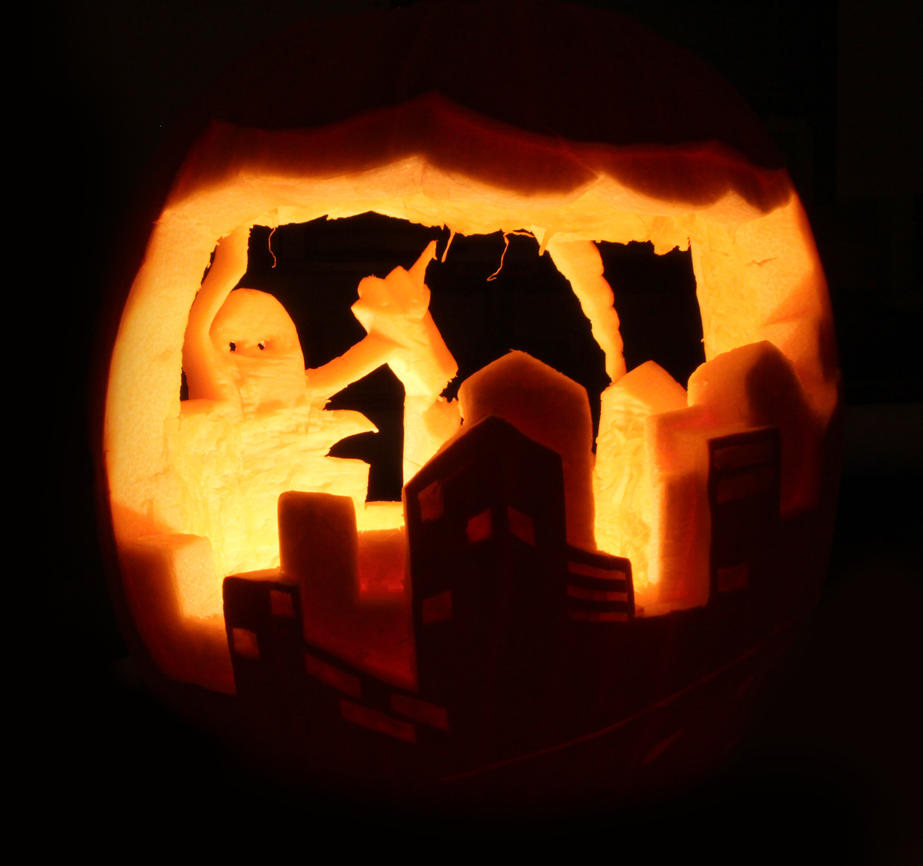 City Under Attack - Pumpkin by Klinkenberger