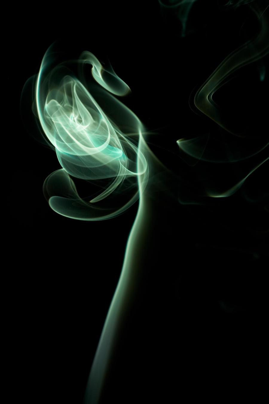 Smoke stock green by Sleepwalker-stock