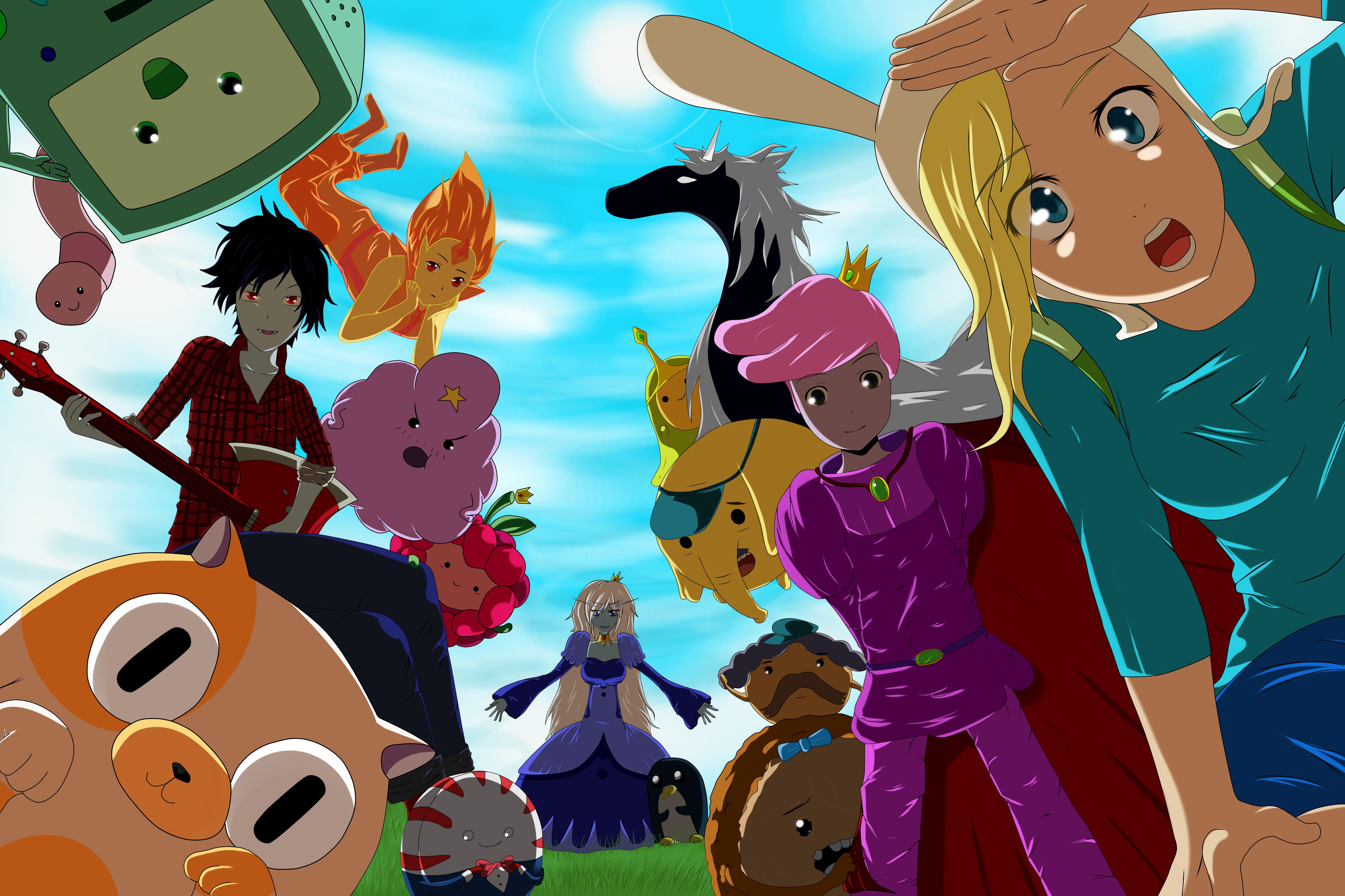 Adventure Time by YoPiiArt on DeviantArt