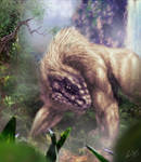FOREST BEAST by glenn cummings