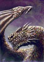 DRAGON 2 by glenn cummings by CUMMINGSart