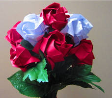 Origami Rose Bouquet for Ka6Scope!