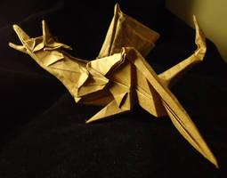 Origami Wyvern