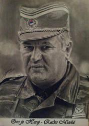 Ratko Mladic by DragomirMajstorovic