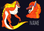 Fire wolf adopt auction