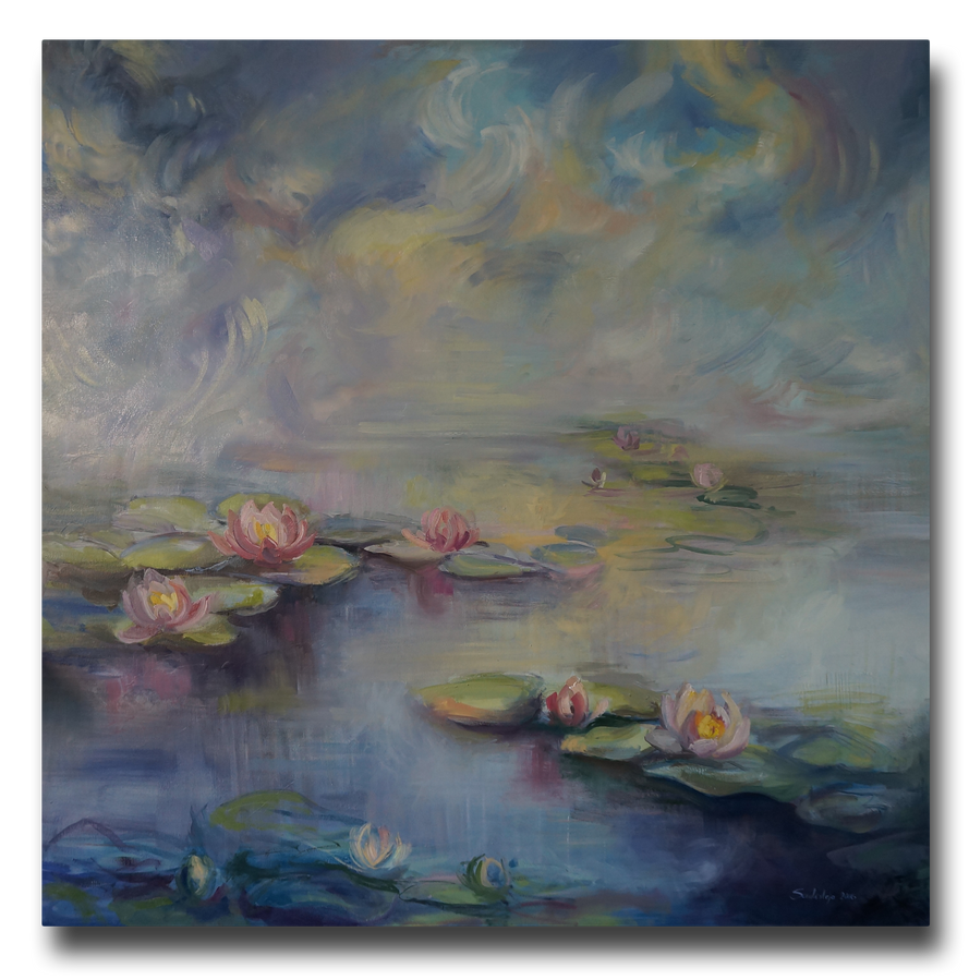 Water Lilies by Saulesleja