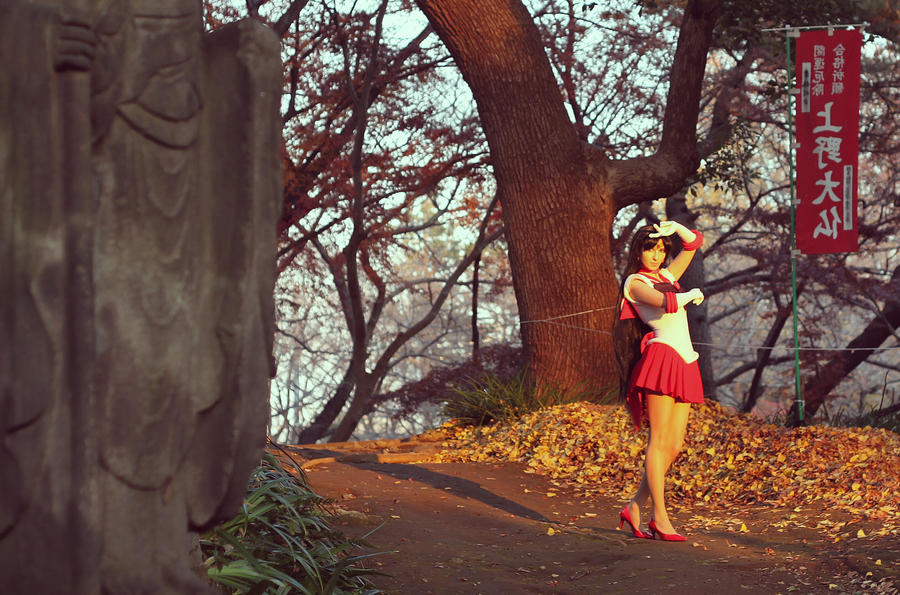 Sailor Mars cosplay by foux86