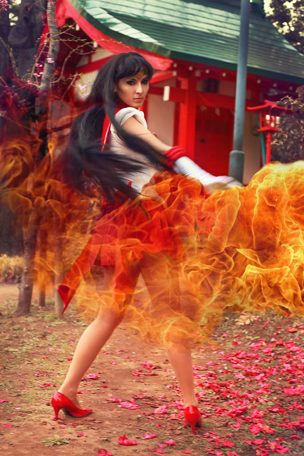 Sailor Mars - spirit of Fire! by foux86
