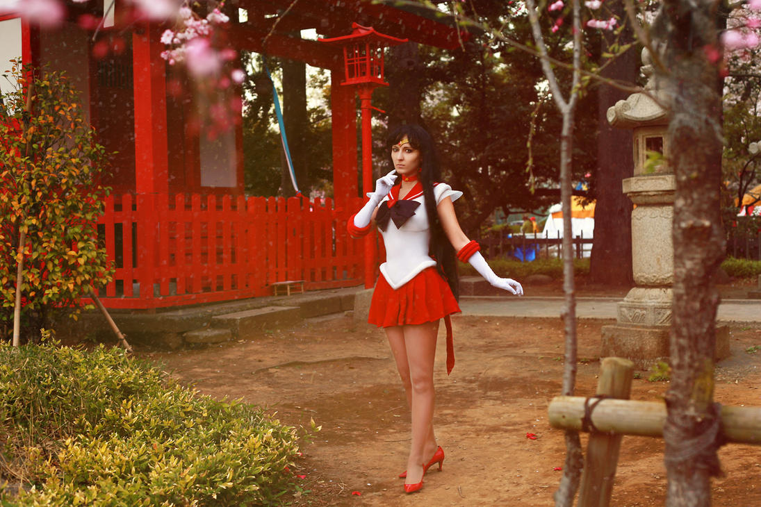 Sailor Mars  caDuk^) by foux86