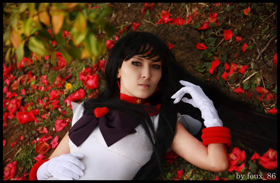 Sailor Mars  PO3bI by foux86