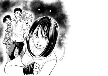 Cover illustration (fake) by NaoYazawa
