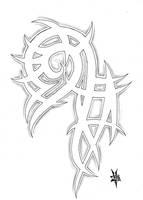 Tribal tattoo by TravTheMad