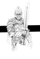 Knight by TravTheMad
