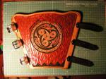 Leathercraft-Archery Bracer_2