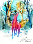 Raca in the woods by EvveyLee