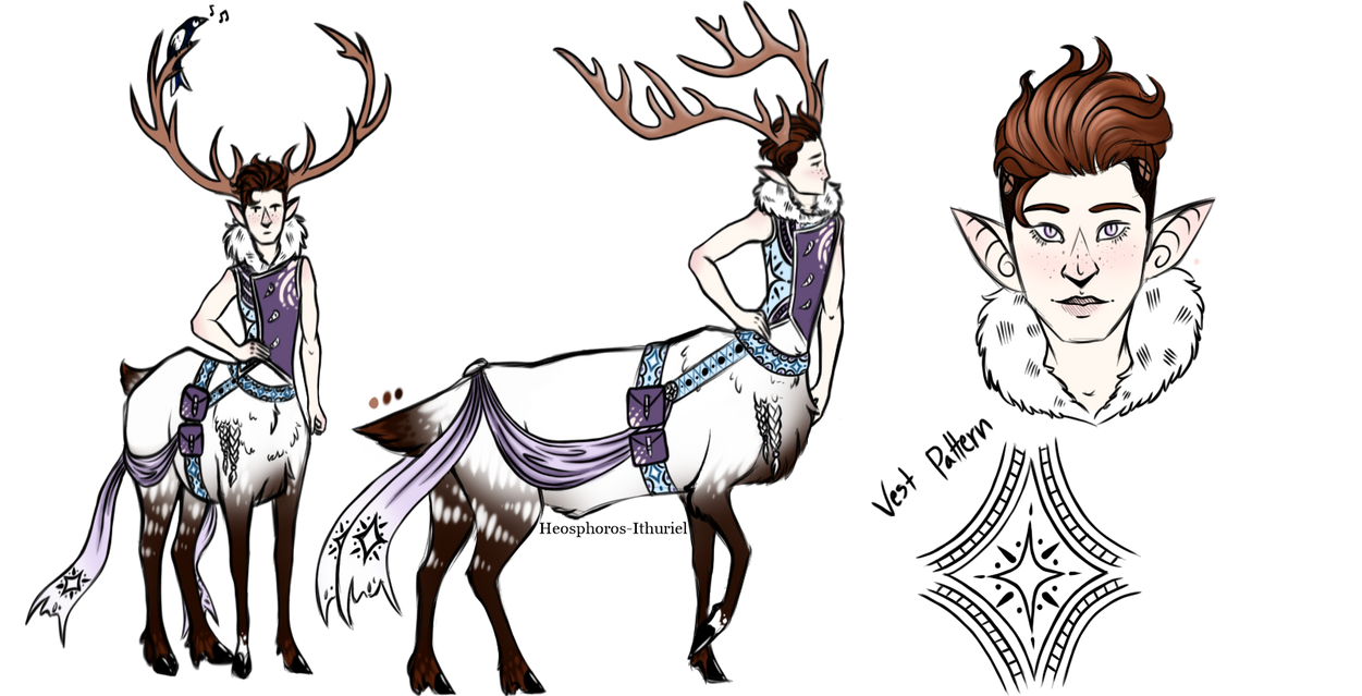 Elk Dude by Heosphoros-Ithuriel